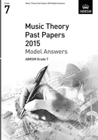 MUSIC THEORY PAST PAPERS ANSW GRDE7 2015