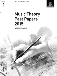 MUSIC THEORY PAST PAPERS GRADE 1 2015