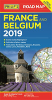 Philip's Road Map France and Belgium