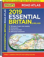Philip's 2019 Essential Road Atlas Brita