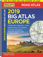 Philip's 2019 Big Road Atlas Europe