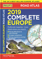 Philip's 2019 Complete Road Atlas Europe