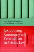 Juxtaposing Autonomy and Paternalism in