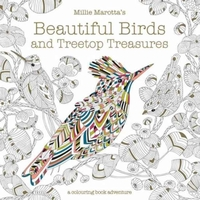 Millie Marotta's Beautiful Birds and Tre