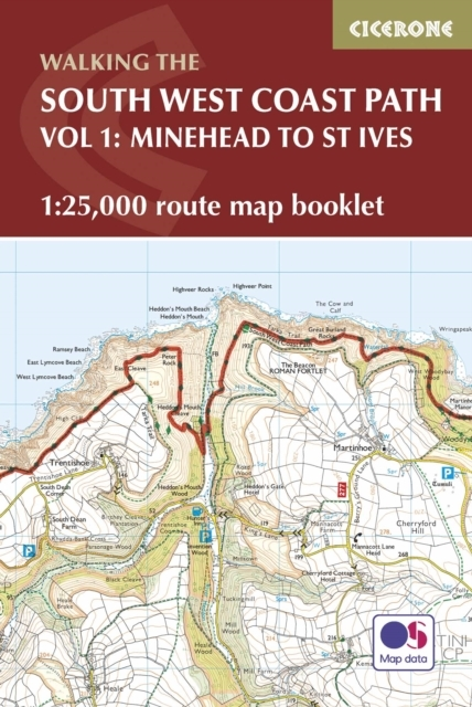 South West Coast Path Map Booklet - Mine
