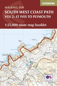 South West Coast Path Map Booklet - St I