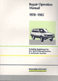 Range Rover Repair Operation Manual 1970