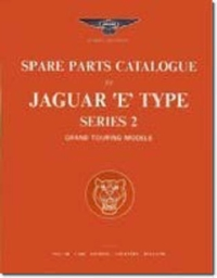 Jaguar E Type Parts Catalogue Series 2 G