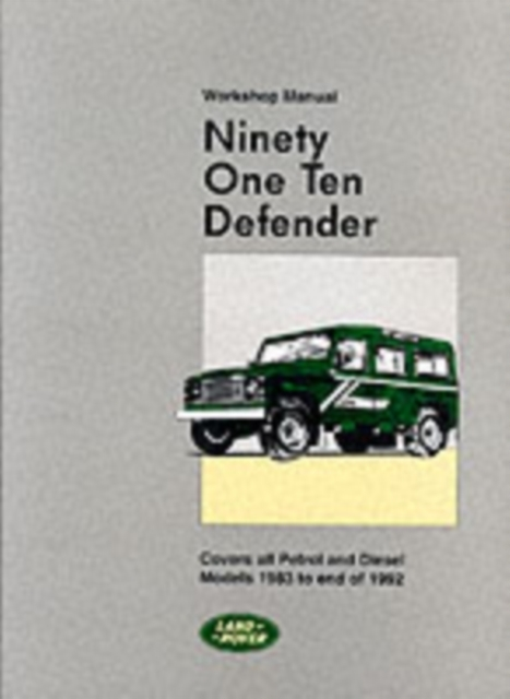Land Rover 90 and 110 (Plus Defender Sup