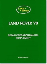 Land Rover V8 Repair Operation Manual Su