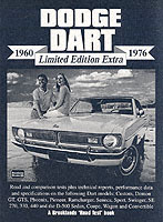 Dodge Dart Limited Edition Extra 1960-19