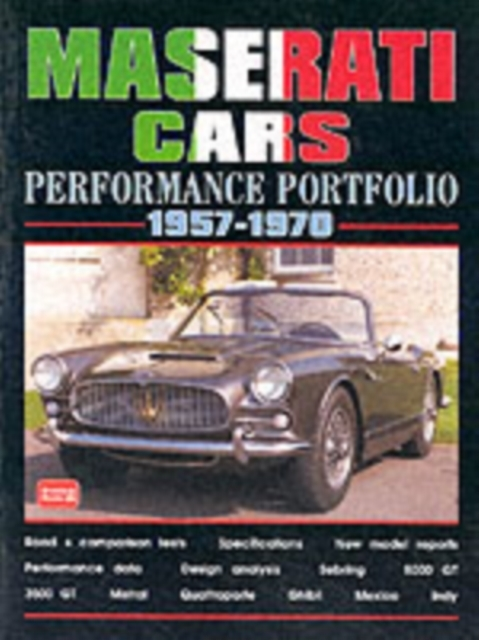 Maserati Cars Performance Portfolio 1957