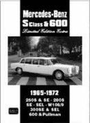 Mercedes-Benz S Class and 600 Limited Ed