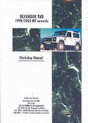 Land Rover Defender Td5 1999-2005 MY Onw
