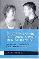 Children caring for parents with mental