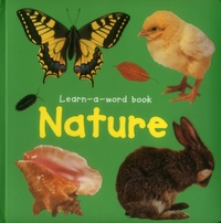 Learn-a-word Book: Nature
