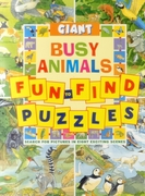 Giant Fun to find Puzzles Busy Animals