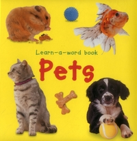 Learn-a-word Book: Pets