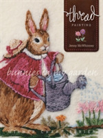 Thread Painting: Bunnies in My Garden