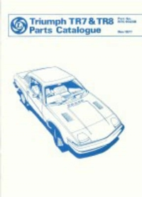 Triumph TR7 and TR8 Official Spare Parts
