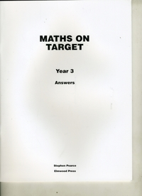 Maths on Target Year 3 Answers