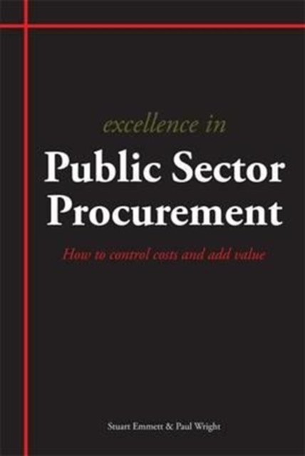 Excellence in Public Sector Procurement