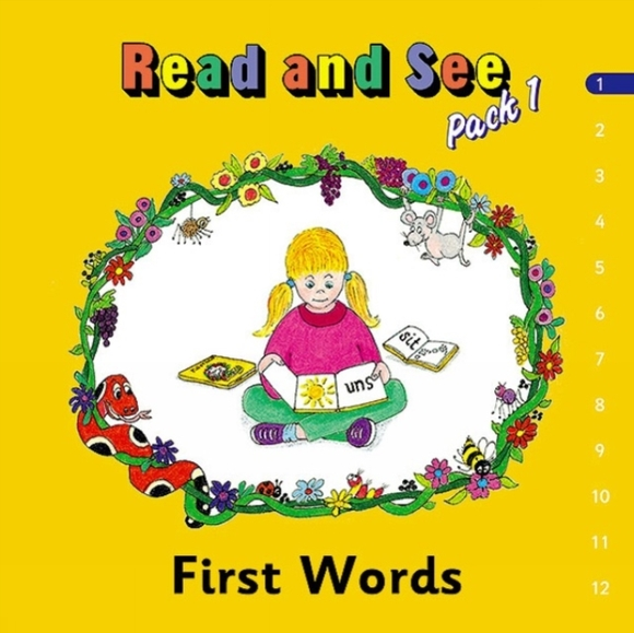 Jolly Phonics Read and See, Pack 1