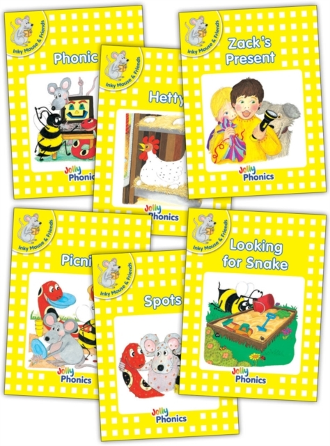 Jolly Phonics Readers, Inky & Friends, L