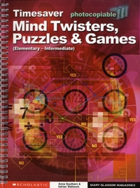 Mind Twisters, Puzzles & Games Elementar