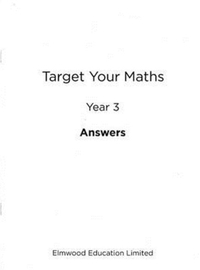Target Your Maths Year 3 Answer Book