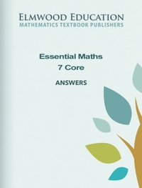 Essential Maths 7 Core Answers