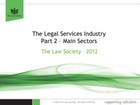 Legal Services Industry