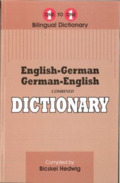 English-German & German-English One-to-O