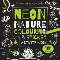 Neon Nature Colouring and Sticker Activi