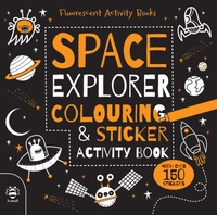 Space Explorer Colouring and Sticker Act