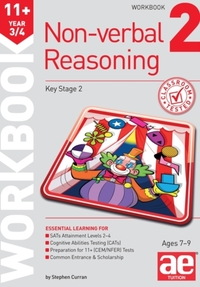 11+ Non-Verbal Reasoning Year 3/4 Workbo