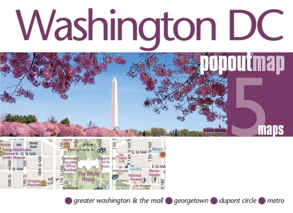 Washington DC PopOut Map
