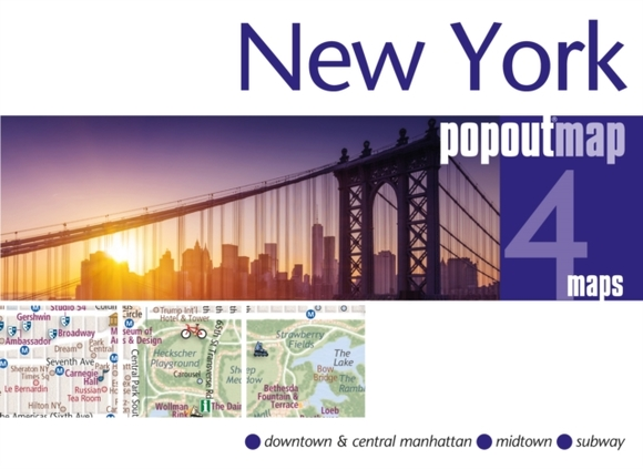 New York PopOut Map