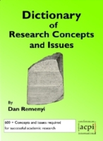 Dictionary of Research Concepts and Issu