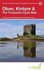 Oban, Kintyre & the Trossachs Cycle Map