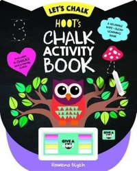 Hoot's Chalk Activity Book