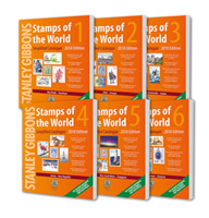 2018 Stamps of the World (6 Volume Set)