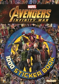 Avengers Infinity War - 1000 Sticker Boo