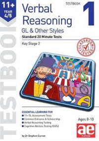 11+ Verbal Reasoning Year 4/5 GL & Other