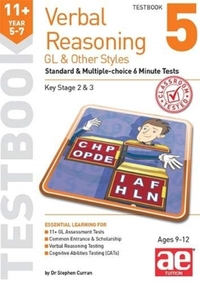 11+ Verbal Reasoning Year 5-7 GL & Other
