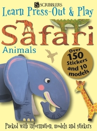 Learn, Press-Out & Play Safari Animals