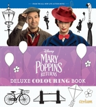 Mary Poppins Returns Deluxe Colouring Bo