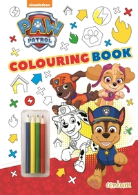 Paw Patrol - Colouring Book