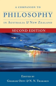 Companion to Philosophy in Australia and