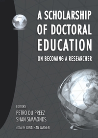 Scholarship of Doctoral Education